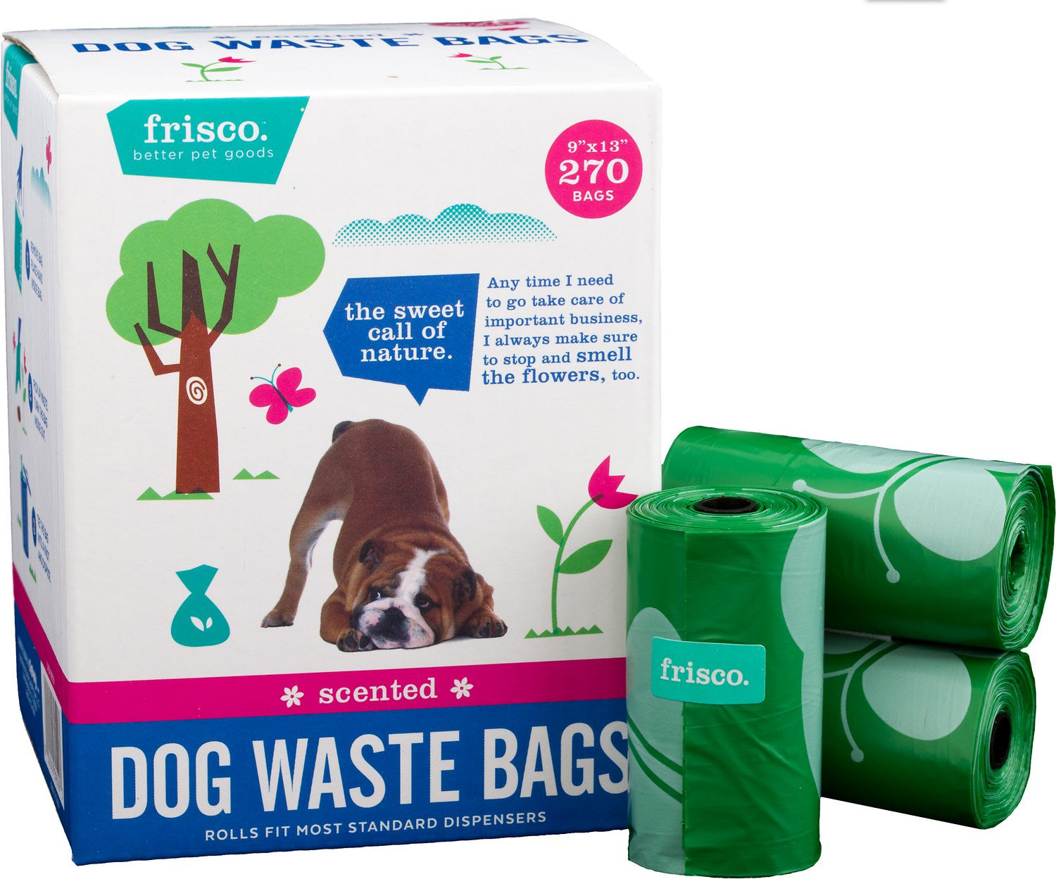 Frisco Refill Dog Poop Bags, Scented, 270 count pics