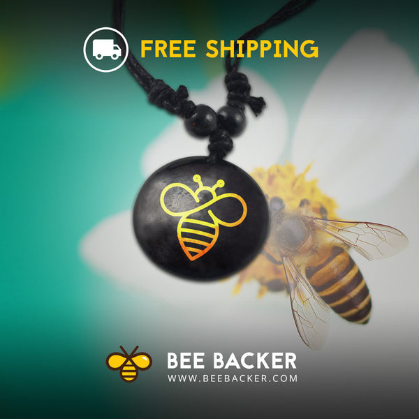 Yellow Bee Backer Healing Pendant!