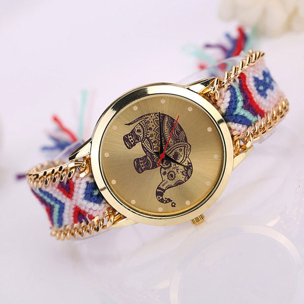 Quartz-infused Elephant Watch