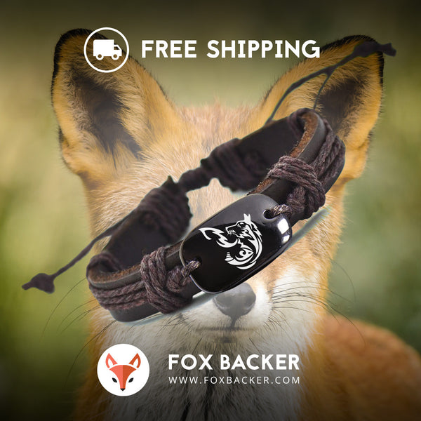 Fox Backer Bracelet SALE