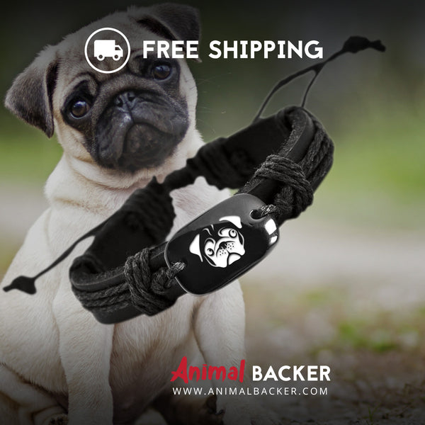 Pug Backer Bracelet SALE