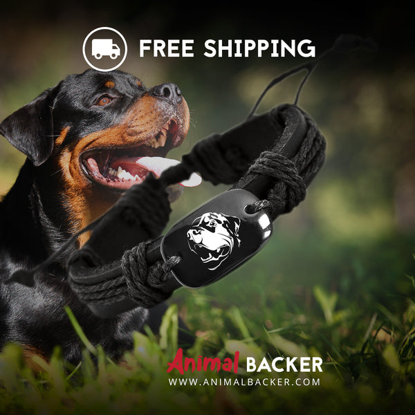 Rottweiler Jewelry Accessories Animal Backer