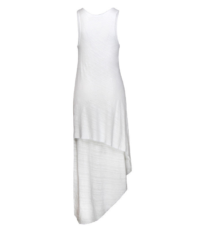 FINE Daze Two Layer Dress in White