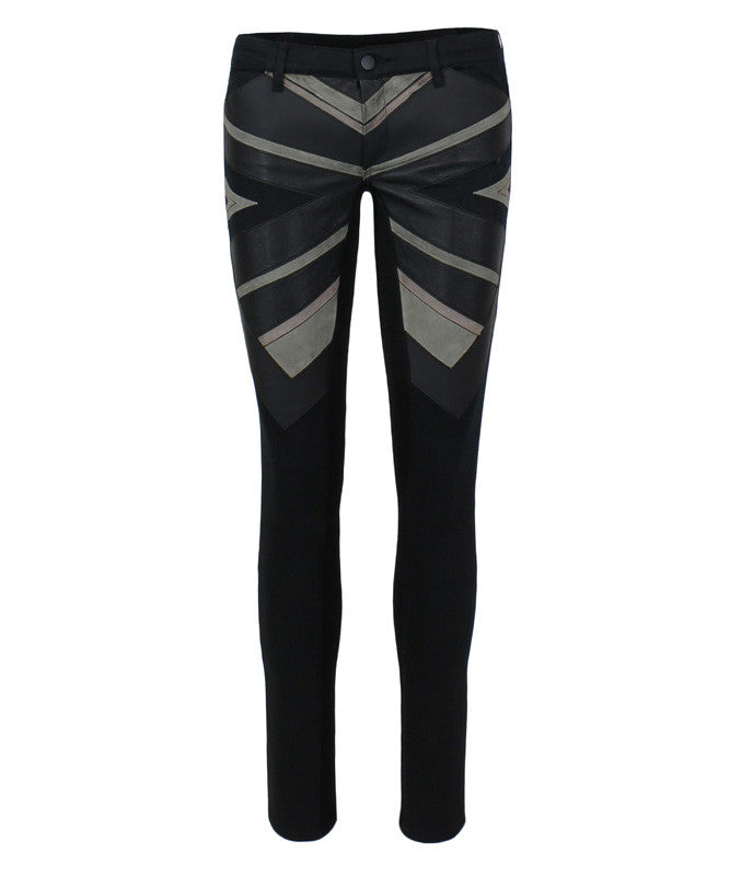 Jack Sling Cross Pant in Black