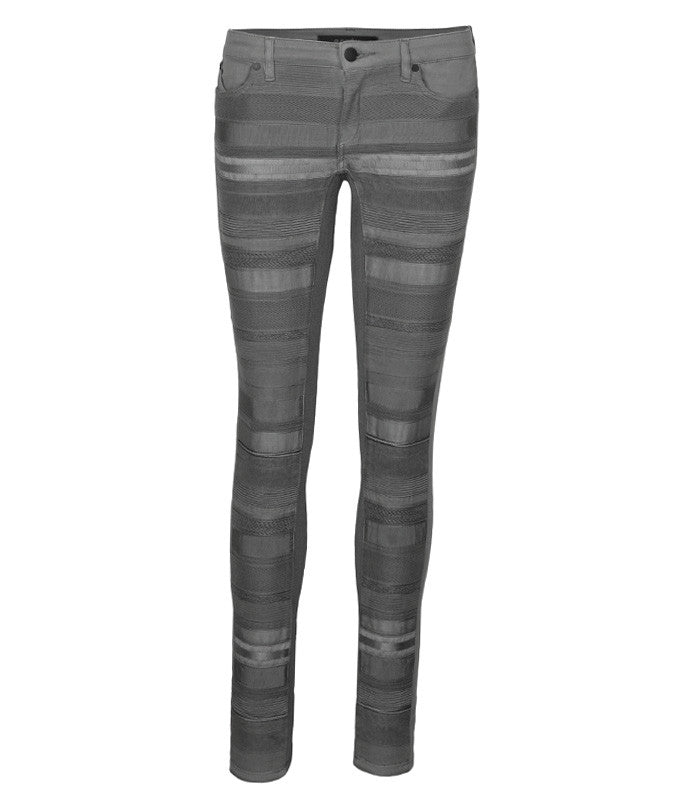 Rap Bandage Jean in Grey
