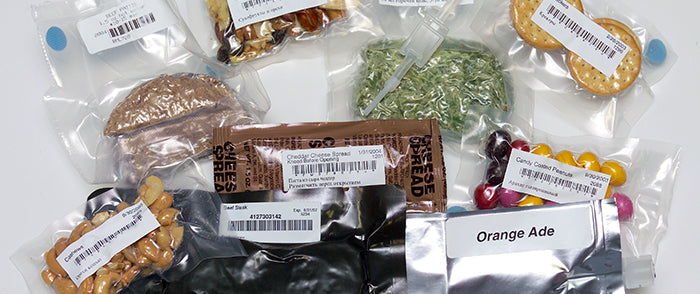 Various Space Food