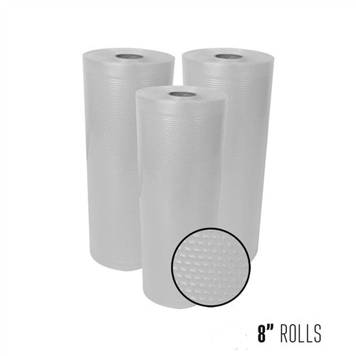 "8"" x 22' Vacuum Sealer ROLLS - The Vak Shack"