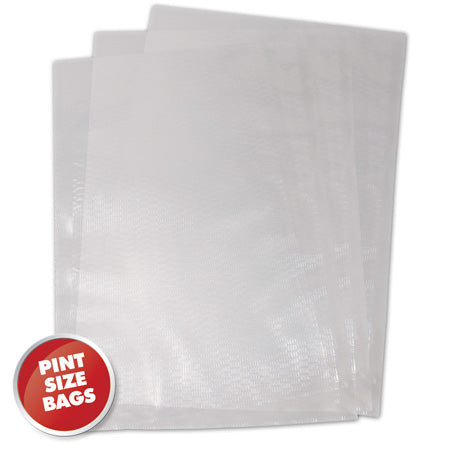 "6"" x 10"" PINT Vacuum Sealer Bags - The Vak Shack"