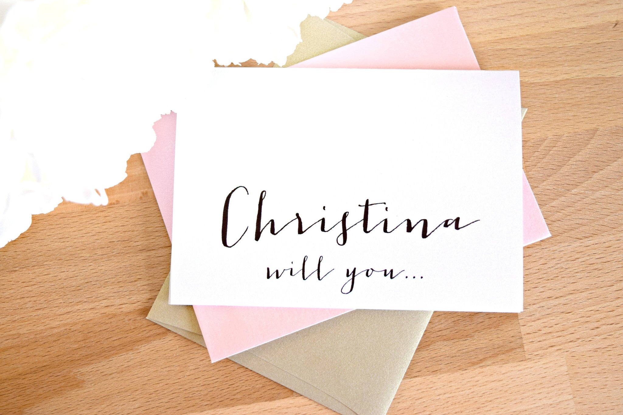 BRIDESMAID / GROOMSMAN PROPOSAL CARDS