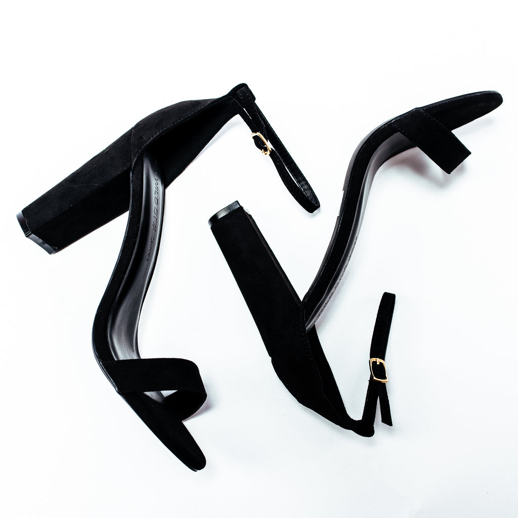 Morris Heel in Black