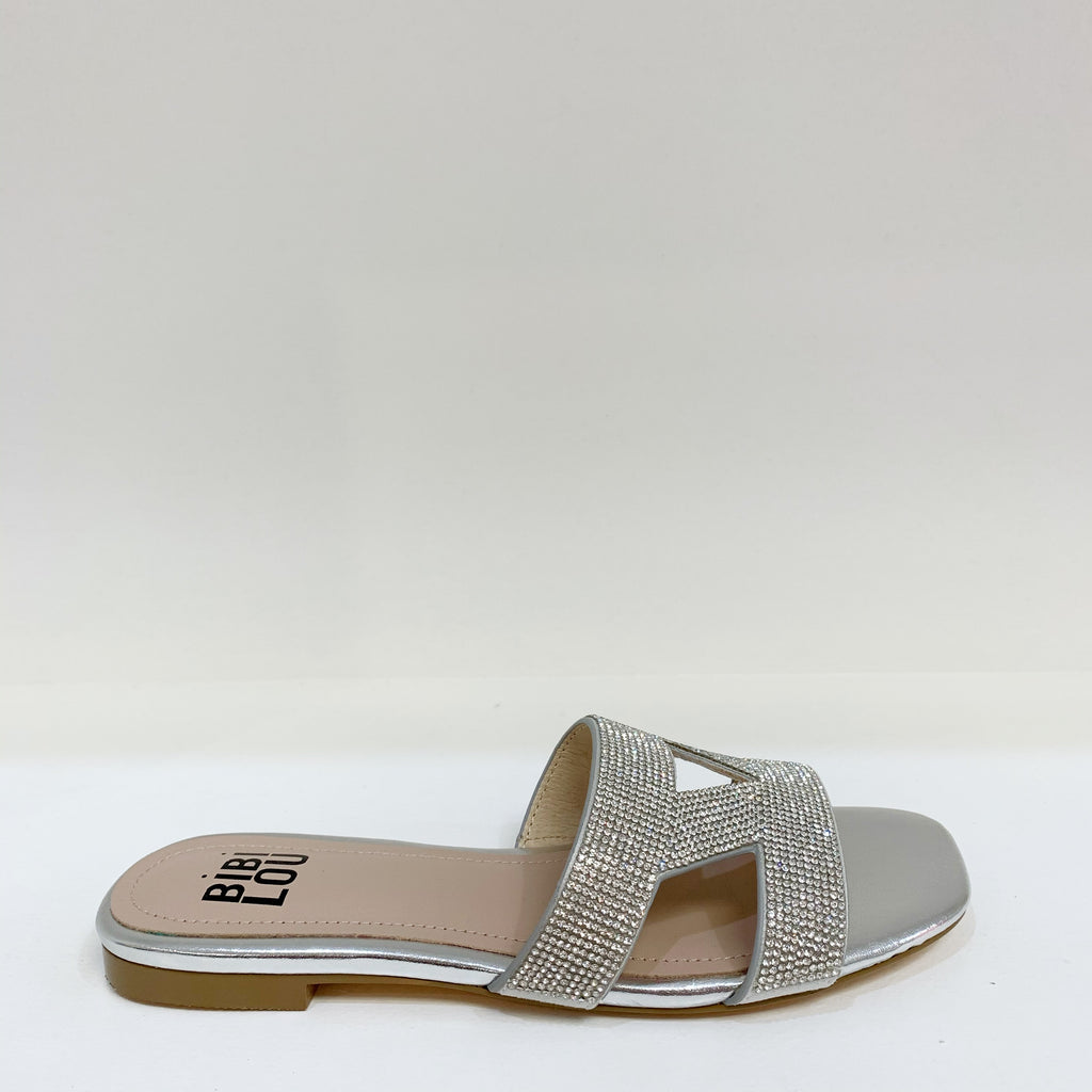 Crystal Slide Sandal