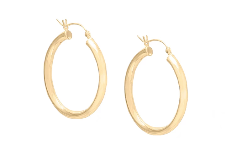 Bianca Hoops Small
