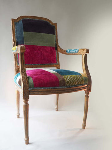 Colourful Patchwork Chair