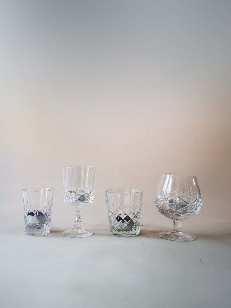 Cut Glass Tea Light Holders