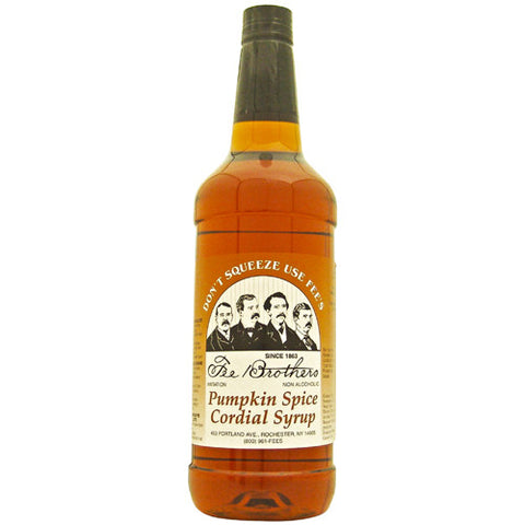 Fee Brothers Pumpkin Spice Cordial Syrup