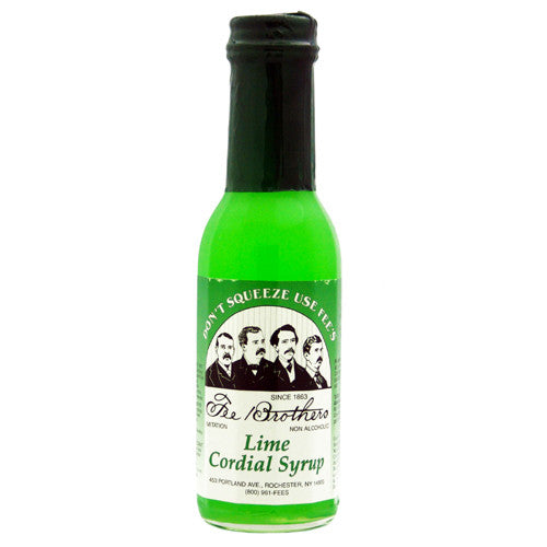 Fee Brothers Lime Cordial Syrup