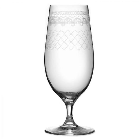 Retro 1910 Pilsner Glass