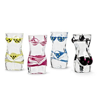 Kathy Bikini Shot Glass - Set of 4