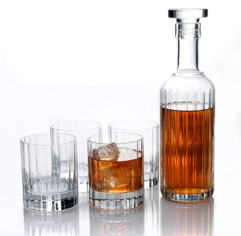 Bach 5-Piece Crystal Decanter Set