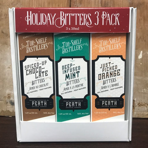 Top Shelf Holiday Bitters Bar-Set