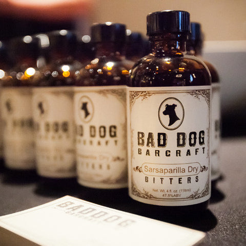 Bad Dog Barcraft Sarsaparilla Dry Bitters