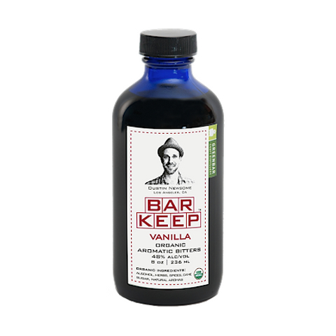 Bar Keep Organic Vanilla Bitters, 8 oz