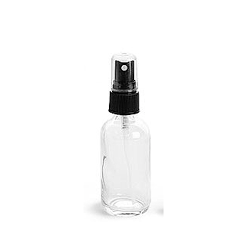 Bitters Bottle with Mist Sprayer, Clear, 2 oz