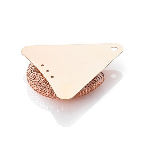 TCB Triangle Hawthorne Strainer Copper