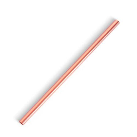 Metal Straw, Copper, 8.5 inch