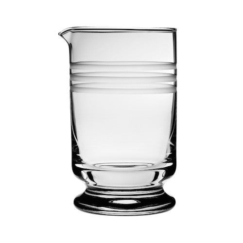 Calabrese Footed Mixing Glass with Three Cuts, 600 ml