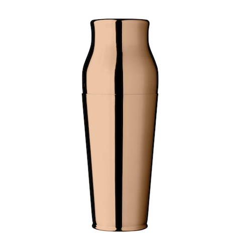 Calabrese 2-Piece Cocktail Shaker, Rose Gold