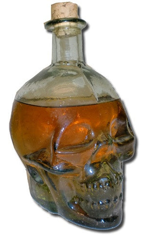 Cocktail Decanter Skull Bottle
