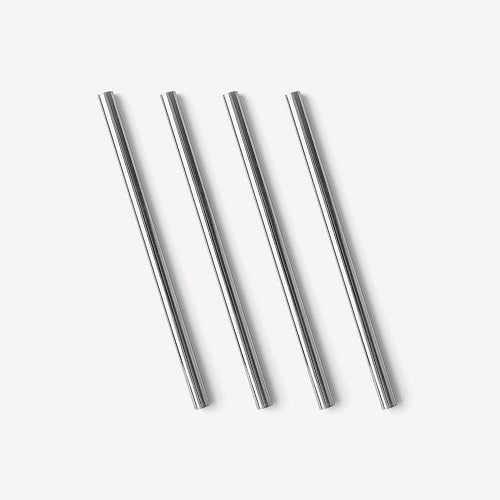 Stainless Steel Cocktail Straw, 12.5 cm