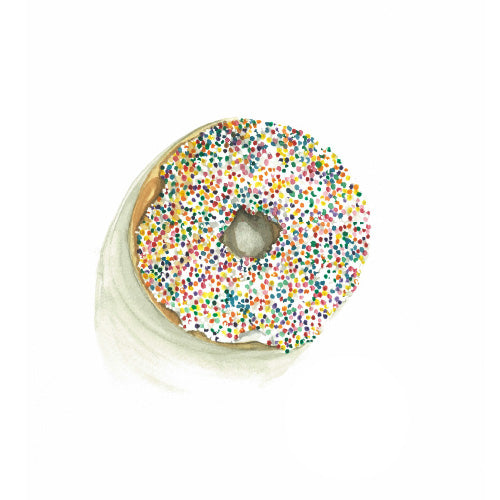 Donut Greeting Card - Blank