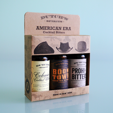Dutch's American Era Cocktail Bitters Gift Pack
