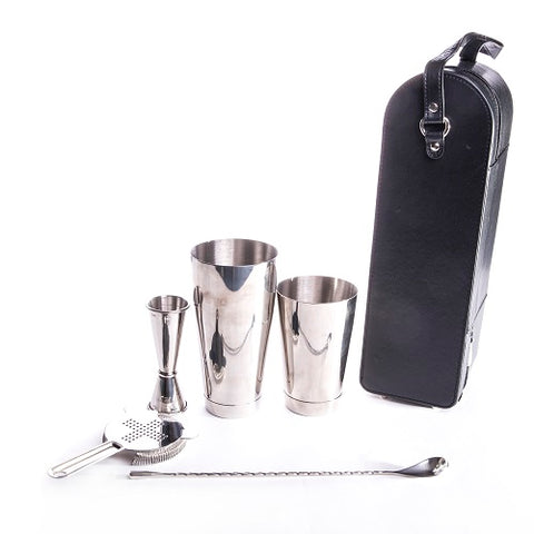 TCB Edo Pro Bar Bag in Gift Box - Stainless Steel