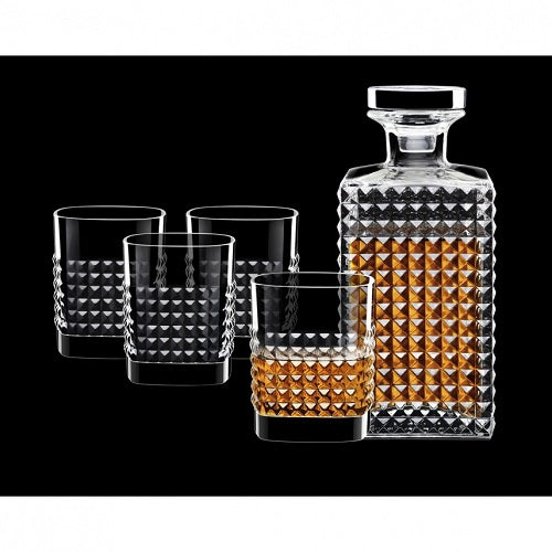 Elixir 5-Piece Decanter Set