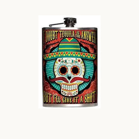 Tequila Flask