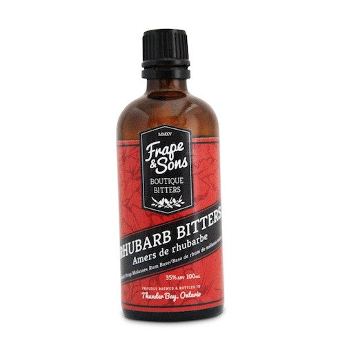 Frape & Sons Rum and Rhubarb Bitters, 100 ml