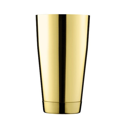 Ginza Shaker Can, Gold, 26 oz