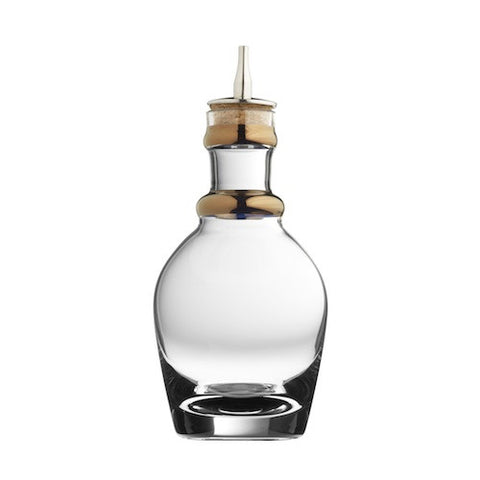 Georgian Bitters Bottle with Copper Bands, 7.5 oz