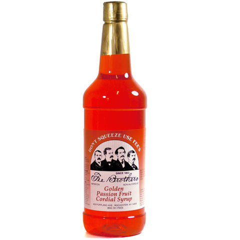 Fee Brothers Golden Passion Fruit Syrup