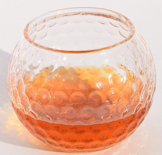 Golf Ball Shaped Whiskey Glass (Set of Two)