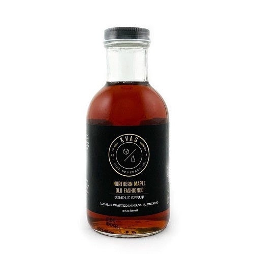 Kvas Northern Maple Old Fashioned Simple Syrup
