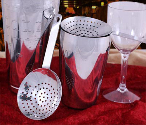 Julep Strainer, Polished Finish