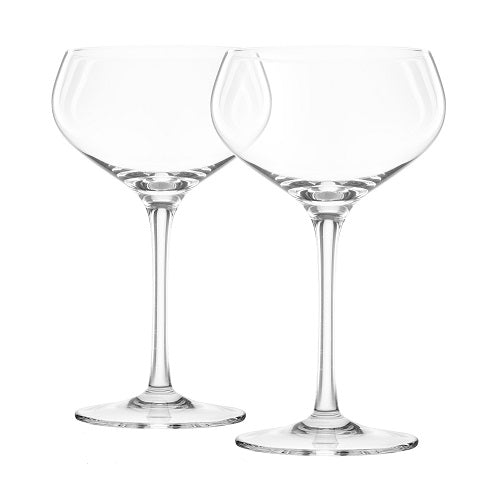 Titanium Reinforced Crystal Coupes - Set of 2