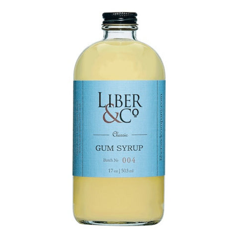 Liber & Co. Classic Gum Syrup, 17 oz