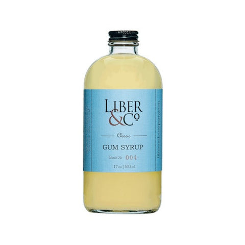 Liber & Co. Classic Gum Syrup, 8.5 oz
