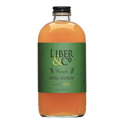 Liber & Co. Pineapple Gum Syrup, 17 oz