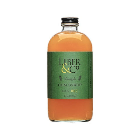 Liber & Co. Pineapple Gum Syrup, 8.5 oz